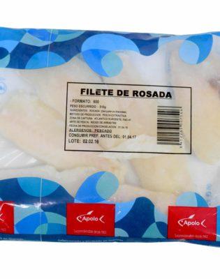 Bolsas de Filetes de Rosada congelados Apolo
